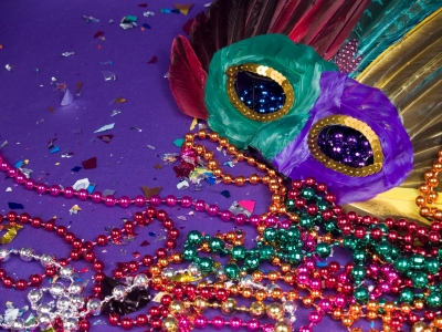 Mardi Gras and Baubles