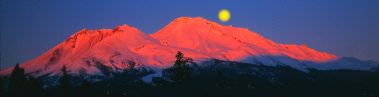 Red Mount Shasta