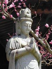 Kuan Yin in garden