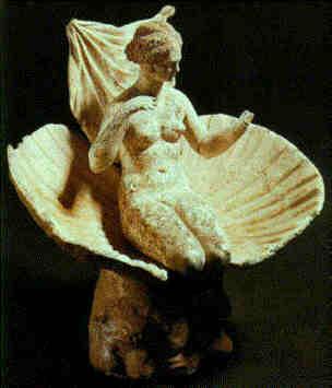Aphrodite's body