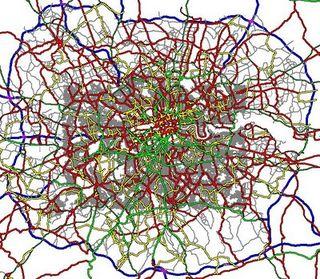 A maze of roads