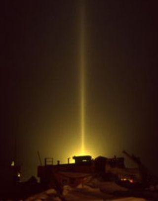 Pillar of light - 2