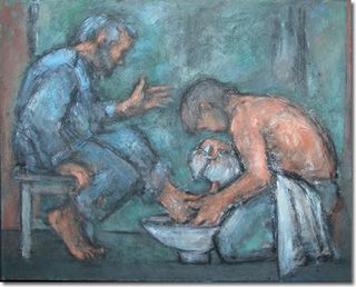 Washing our brother's feet